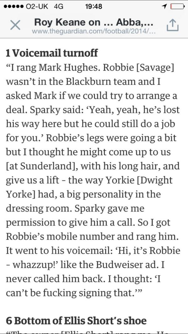 Another reason why Roy Keane is a legend  #NFFC <br>http://pic.twitter.com/uDRHMmiduV