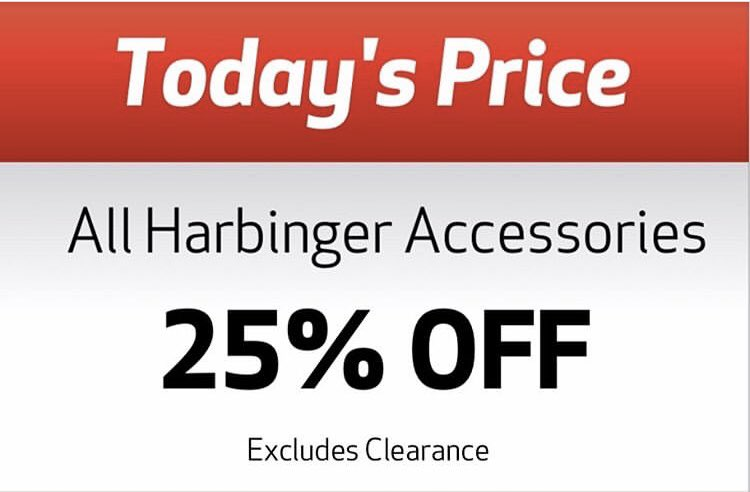 Today Only💥Stop in and check out Harbinger Accessories in our Pro Shop!! #24HourFitness #HancockCenter #MondaySpecial #Accessories #Harbinger @24hourfitness