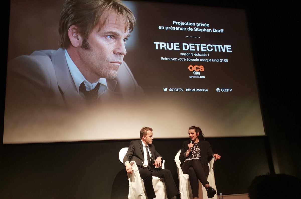 Stephen Dorff à Paris pour True Detective
