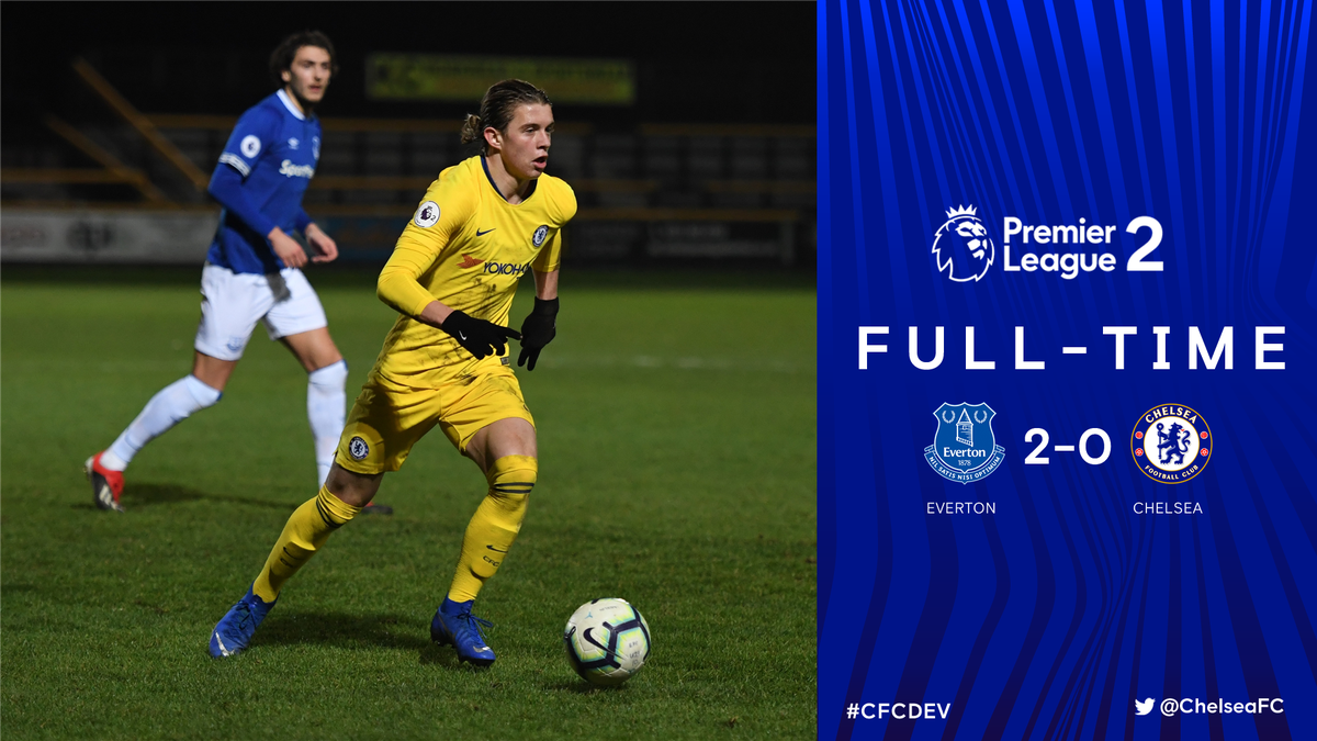 A tough night on Merseyside as our development squad play with a man down for 75 minutes against the league leaders and concede in both halves to suffer defeat.   #CFCDEV