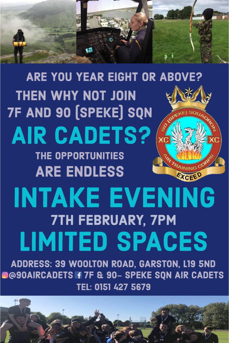 7F 90 RAF Air Cadets Liverpool 90spekeATC