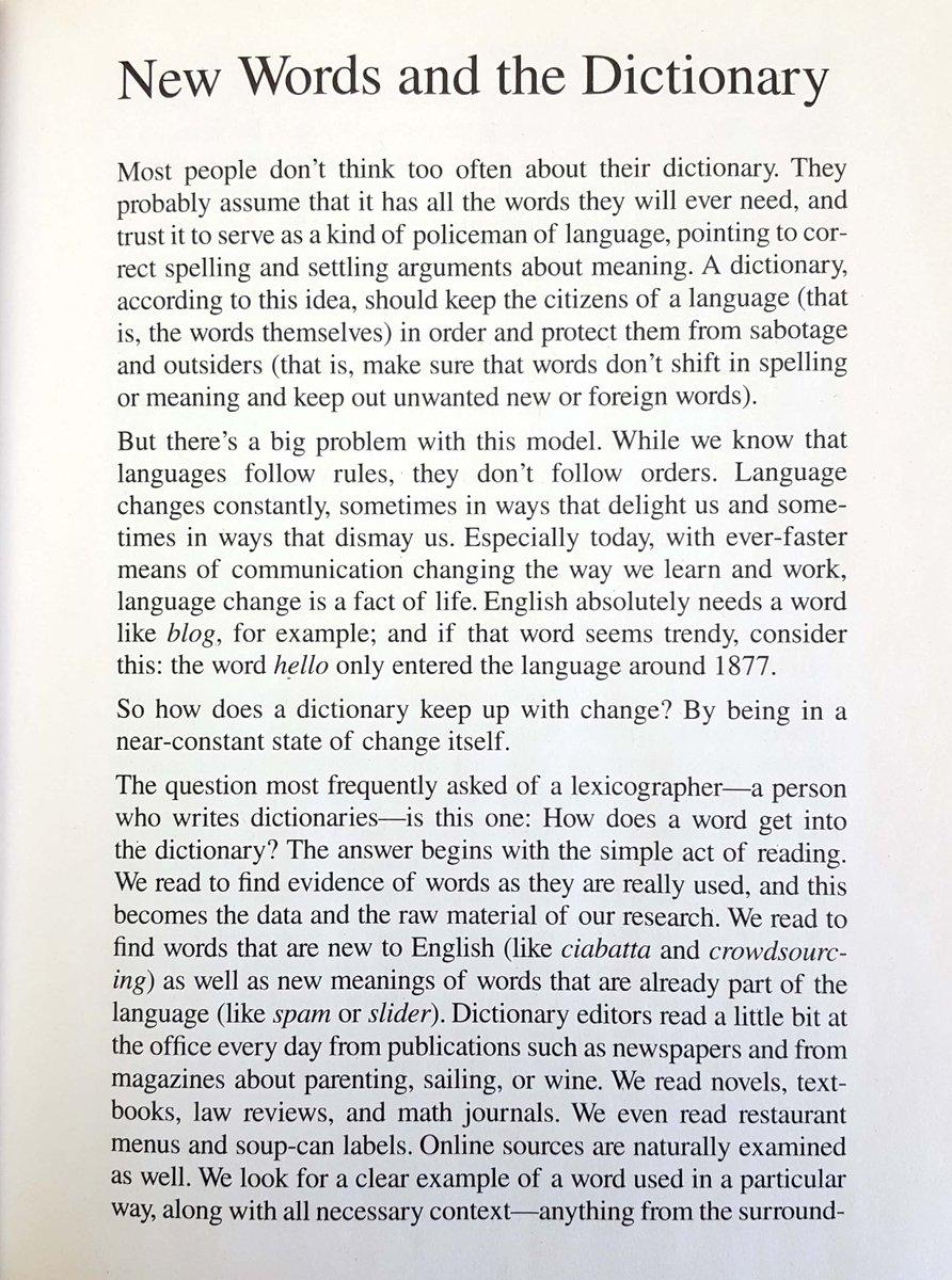 A letter came into the office making reference to this short essay, used in a large print special edition of one of our dictionaries. It's from 2012 and I had totally forgotten about it, but it holds up fine as a general introduction.