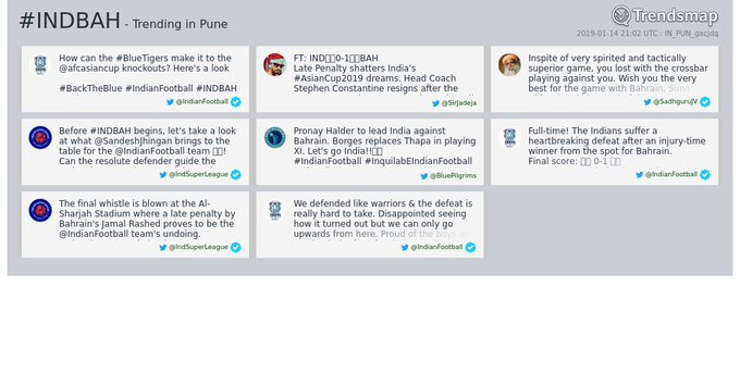 #indbah is now trending in #Pune Photo