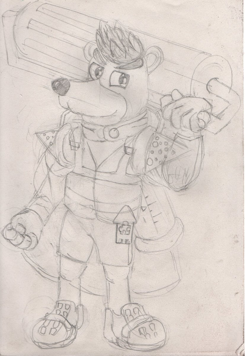 Inner agent banjo, he&#39;s ready to splat Grunty&#39;s butt #banjokazooie #banjoforsmash #Splatoon2 <br>http://pic.twitter.com/haz6EEiRV3