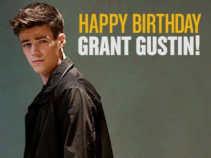 Happy birthday to Grant Gustin, born January 14,1990.