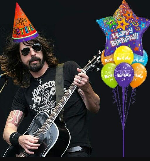 Happy 50th Birthday to the amazing David Grohl!!! From The Shed!