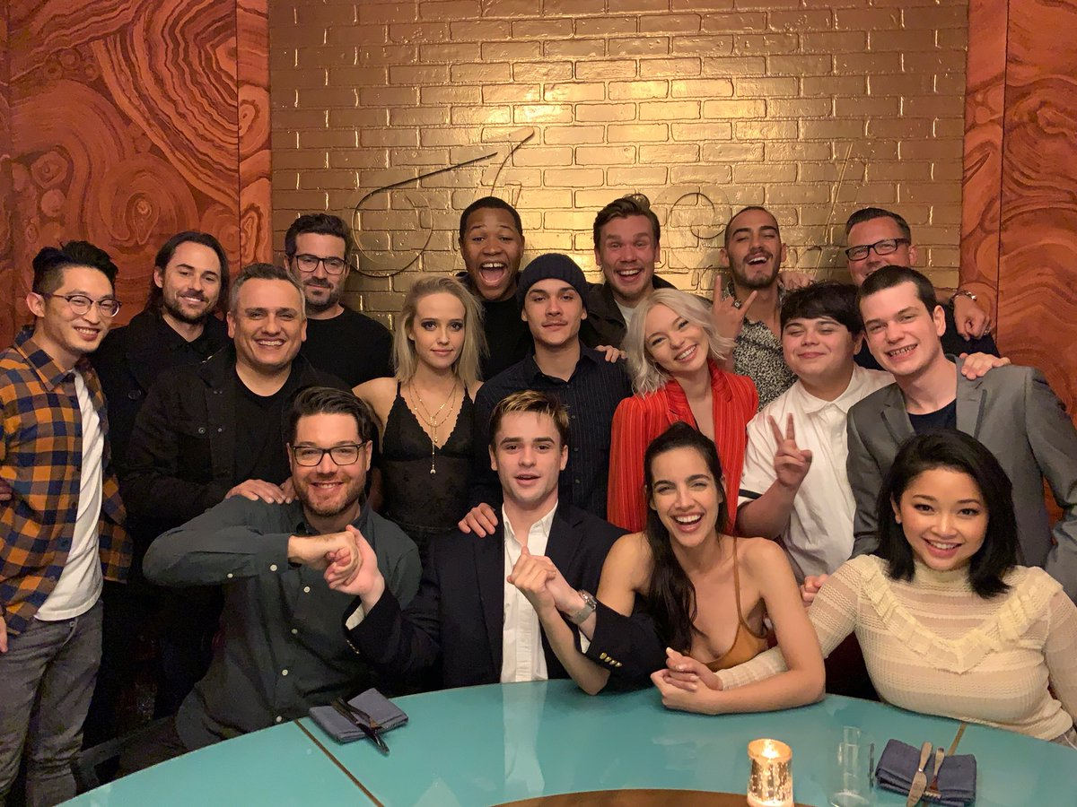 So proud of this cast. Such an amazing group of actors... @DeadlyClassSYFY premieres on @SYFY January 16th.