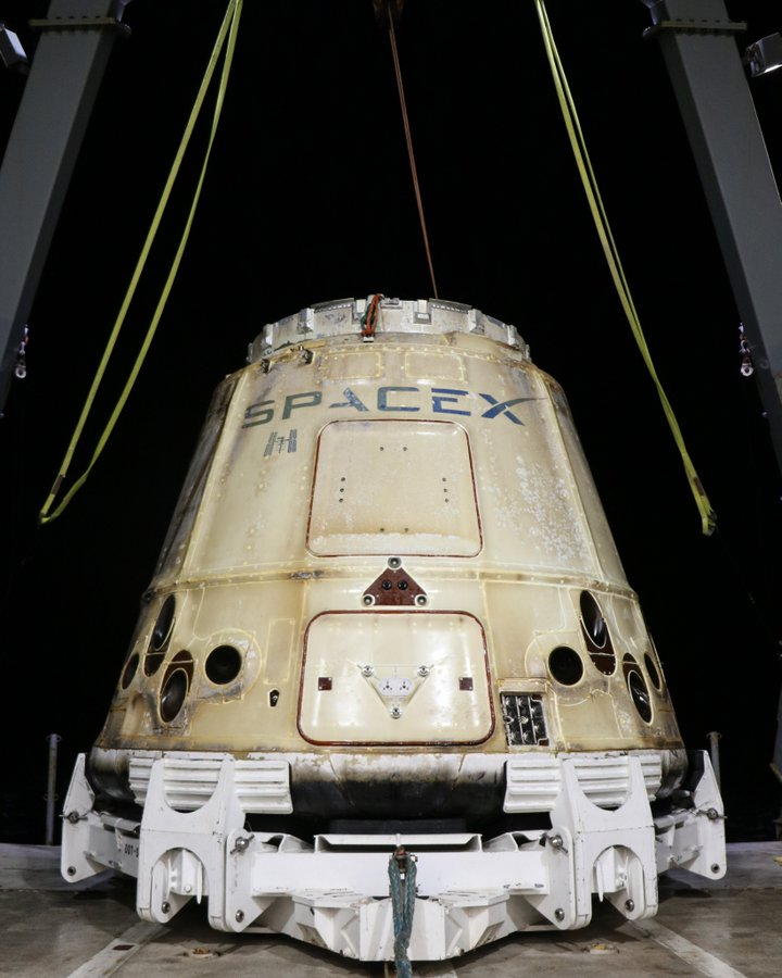 SpaceX's Dragon People Carrier