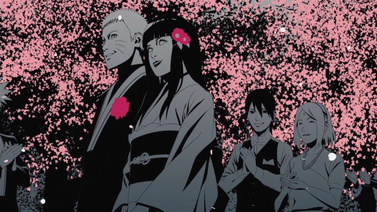 Naruto and Hinata's wedding 🌺