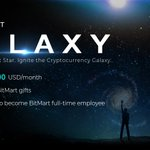 Image for the Tweet beginning: 🌟Introduce #BitMart Galaxy Program🌟 Become
