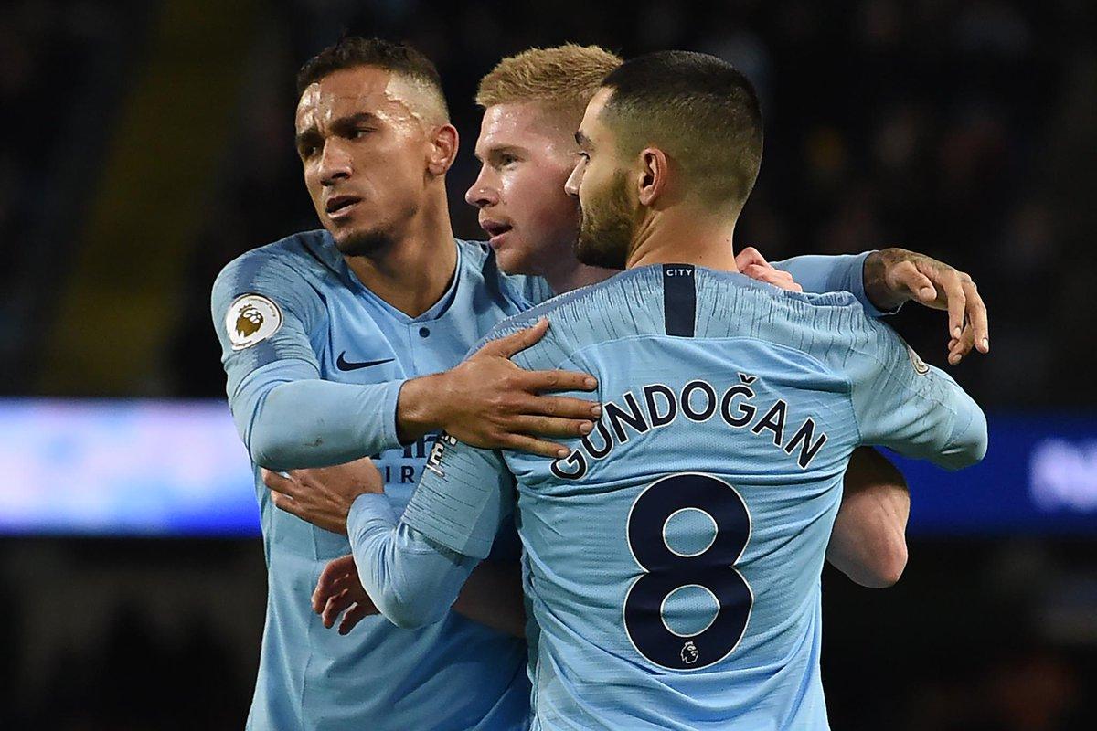 #PremierLeague Fecha 22 Manchester City 3 (Gabriel Jesús 10' y 39' Pen Coady 78' a.g) 0 Wolves