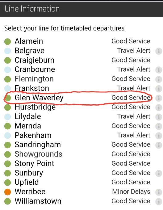 . @metrotrains Hey guys, yeah nah I think you might be wrong here Photo