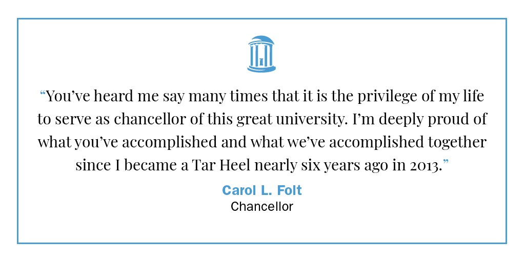 I am writing today to let you know that I have decided to step down as chancellor following graduation, at the end of the academic year: https://t.co/ehdKl1M0Rz https://t.co/3doa3cTosW