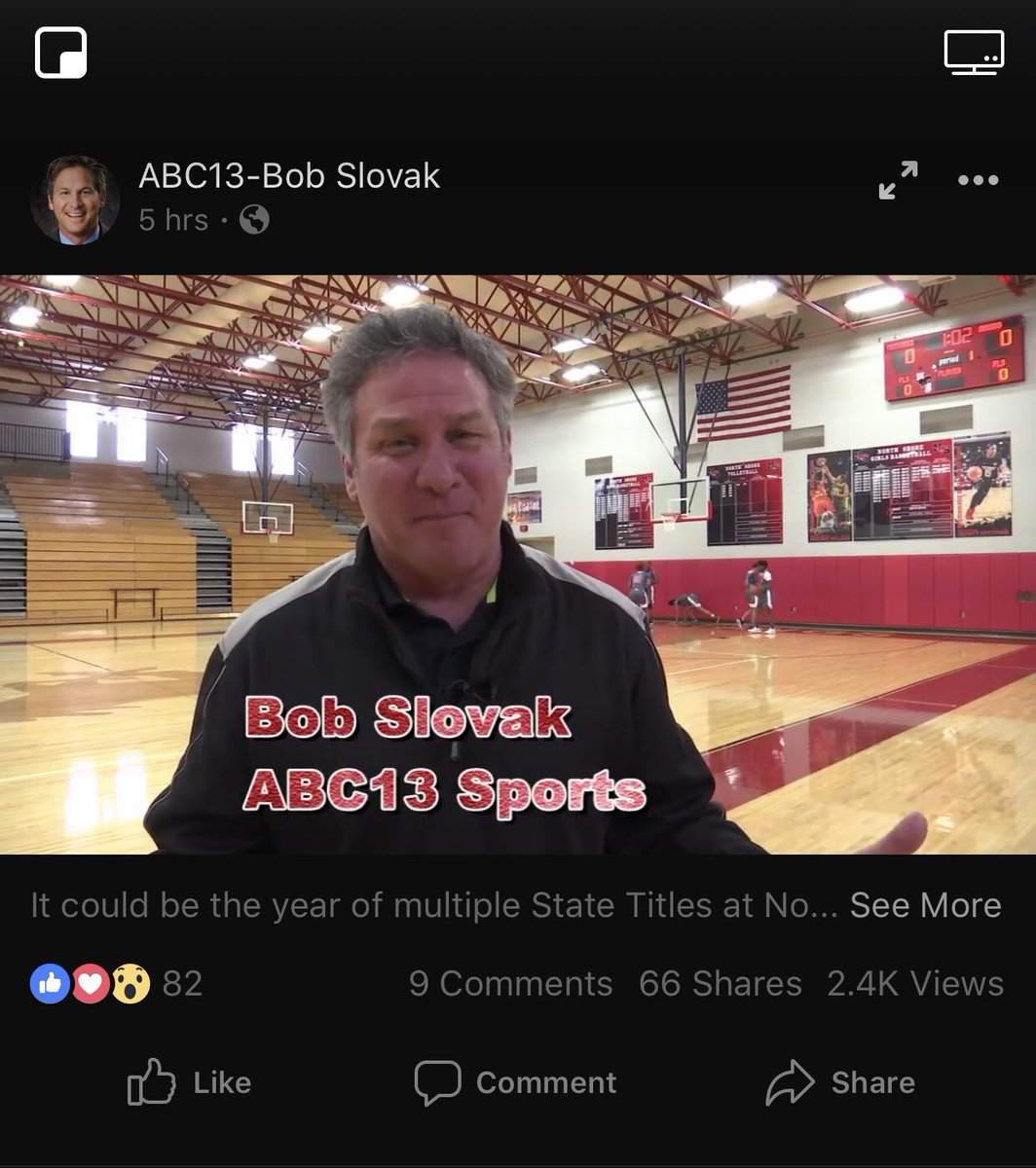 ABC13 News reporting at North Shore Senior High. My banners hanging in the background. LOL! <br>http://pic.twitter.com/YUbJAQTmkm