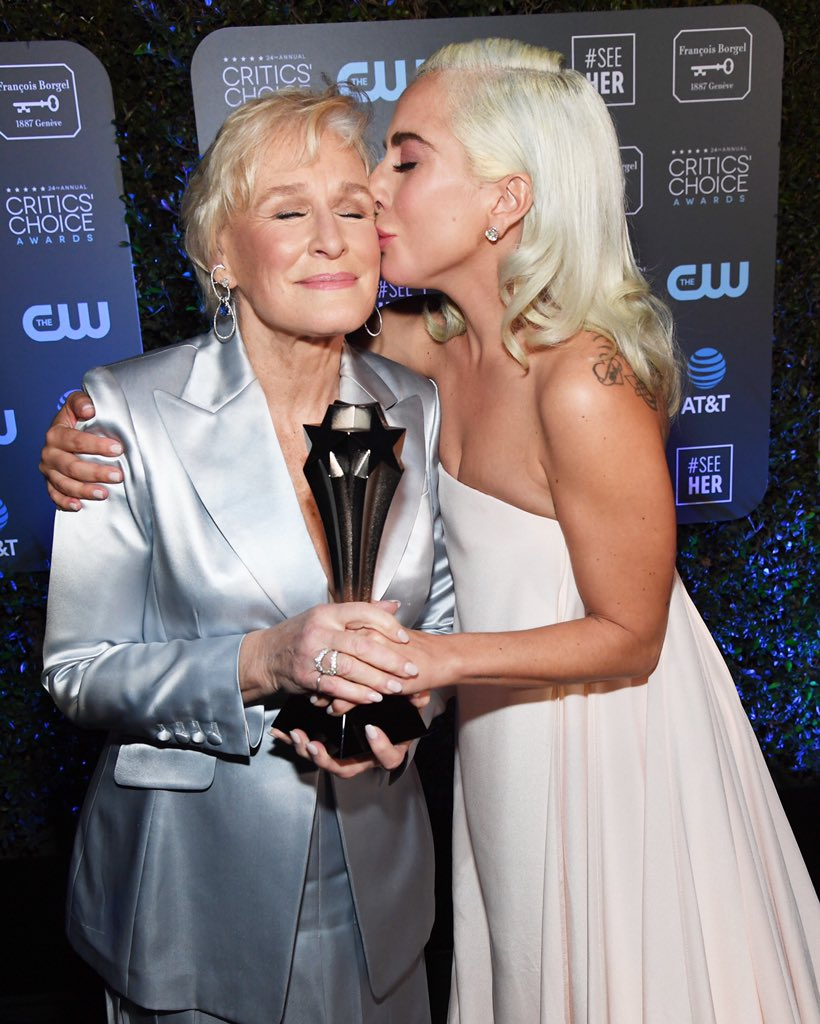 Thank you @CriticsChoice for these honors! 📸 Kevin Mazur / Jon Kopaloff / @GettyImages