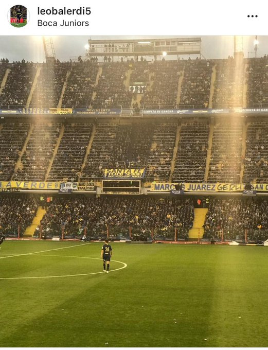 #Boca | El mensaje de despedida de Leo #Balerdi por redes sociales. Vía:@felimanyi Foto