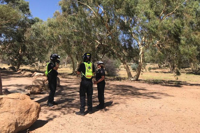 Frequent, urgent warnings from Northern Territory police, paramedics and park rangers to avoid hiking during a scalding Central Australian heatwave continue to go ignored PIC: Katrina Beavan Photo
