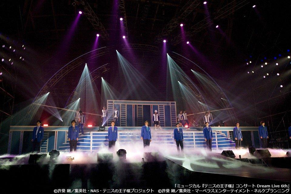 「ミュージカル『テニスの王子様』コンサート Dream Live 6th」 1/30(水)よる9:0