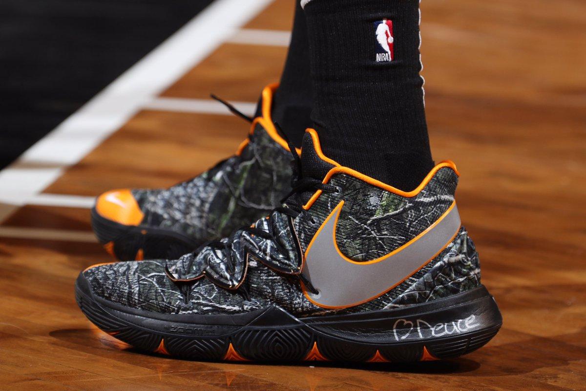 jaytatum0 wearing the Nike Kyrie 5