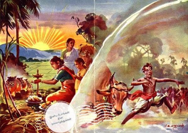 அனைத்து உயிர்களுக்கும் முதன்மையானவன் சூரியன்.  அதனாலே முதலில் விளைச்சலை சூரிய தெய்வத்துக்கு இட்டு வழிபட்டனர் தமிழர்கள்.  (அறிவியல் - சூரியனே ஆற்றல் மூலம்)  #தைப்பொங்கல் #பொங்கல்நல்வாழ்த்துக்கள்