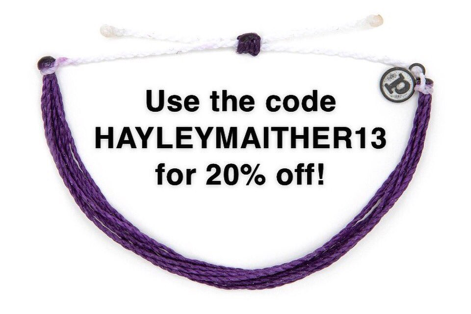 Hello #TheBachlor fans! Have you seen @colton's @puravidabrac? A portion of the proceeds are donated to help individuals with Cystic Fibrosis! Check it out & use the code HAYLEYMAITHER13 for 20% off your entire order at http://puravidabracelets.com #cysticfibrosis #puravidabracelets