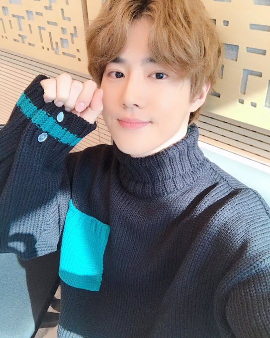 Congratulations to our Bunny 🐰🎉🎉 I am so proud of you out Junmyeon. You deserve it. I love you ❤️ #웃는남자_대상축하해 #준면아_대상_축하해 @weareoneEXO Fotoğraf