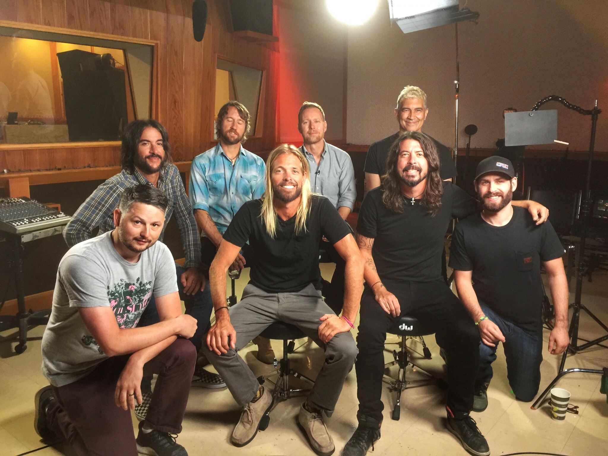 Happy 50th birthday Dave Grohl! - Jeremy (Jamie is there too)