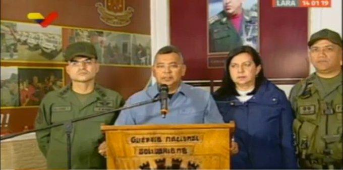 #HaceInstante | Ministro @NestorReverol: Estamos preparando el dispositivo de seguridad integral para la 61 edición de la Serie del Caribe que se celebrará en febrero en el estado Lara #MaduroMemoriaYCuentaANC Photo