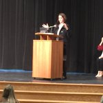 Image for the Tweet beginning: EHHS National Honor Society Induction