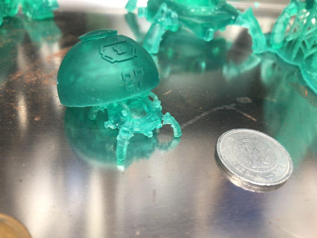 やがて卵から小さな子供が・・・   #fusion360  #flashforgehunter #炭団
