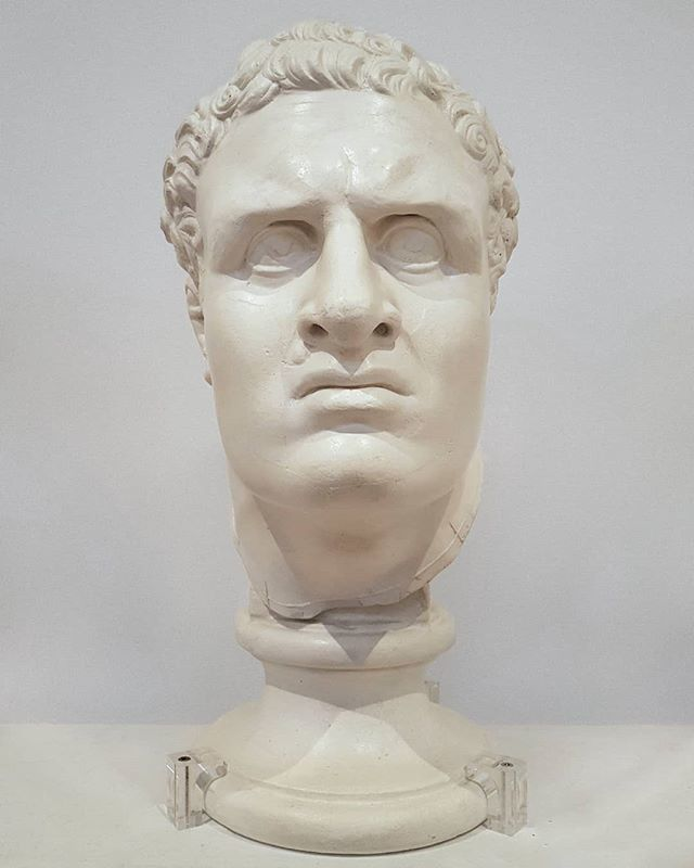 #AntonioCanova #HeadOfDamoxenos #plaster @museibassano #BassanoDelGrappa #sculpture #Damoxenos #AncientOlympicGame #Neoclassicism https://t.co/vIkq9MDo5a