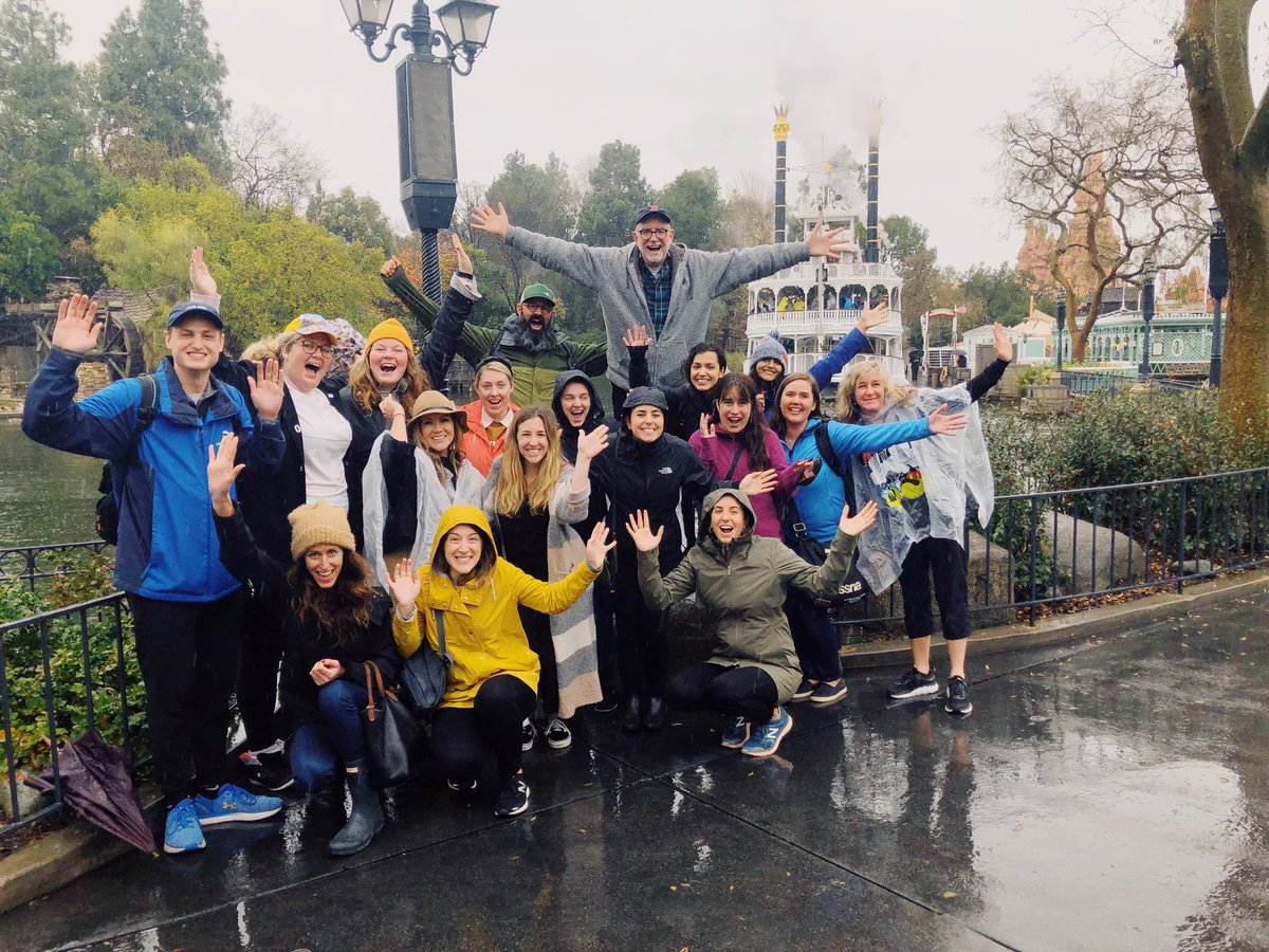 Another day in the office with Dream Big Alumni! #Disneyland #dreambigframework