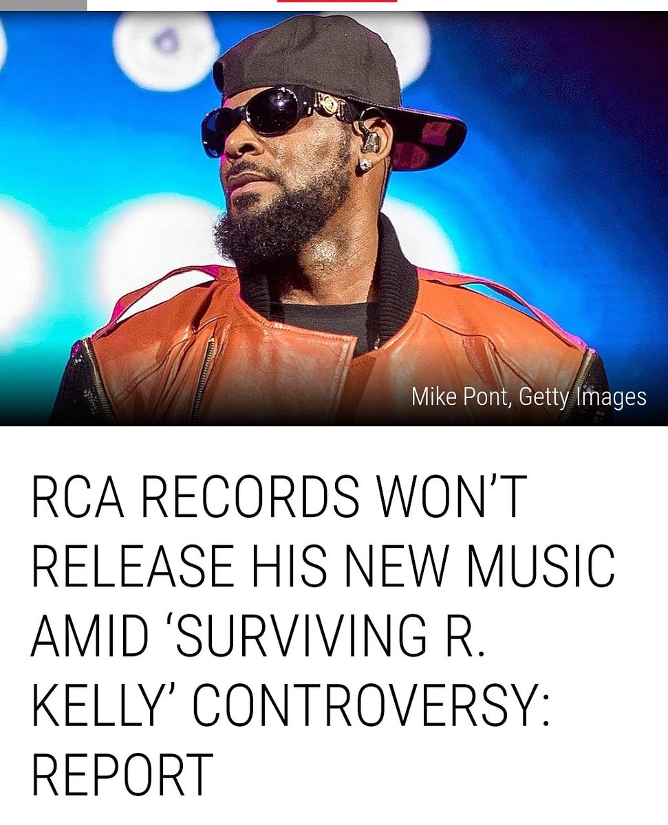 It's not victory, but it's a start! #RCARecords/#SonyMusic will not produce or release any of the @rkelly's new music nor will they put money behind any of his projects until criminal investigationsin #Georgia and#Chicagohave concluded. #MuteRKelly #SurvivingRKelly #RKelly