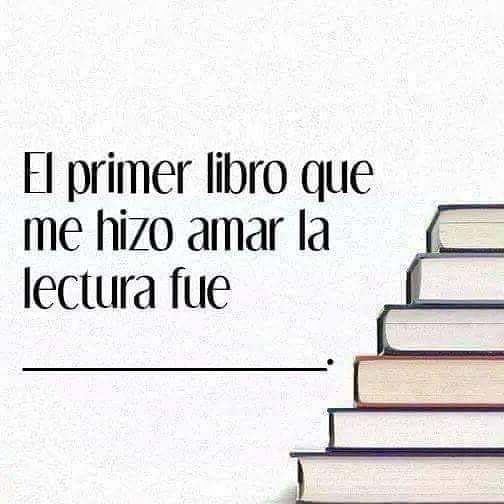 ¿Cuál fue tu primer libro?  @RoyCampos