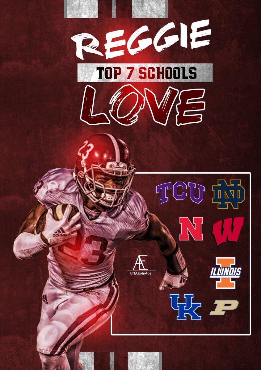4-Star RB Reggie Love Names Top 7 Schools
