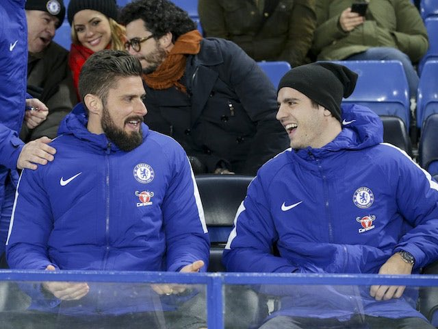 Barcelona have been so far linked with Chelsea players Alvaro Morata, Willian and Olivier Giroud is the next one in line (Sport). Yes, what a time to be alive. And it will be copied and pasted om a lot of websites. Transfer stories have basically become entertainment. #cfc Photo