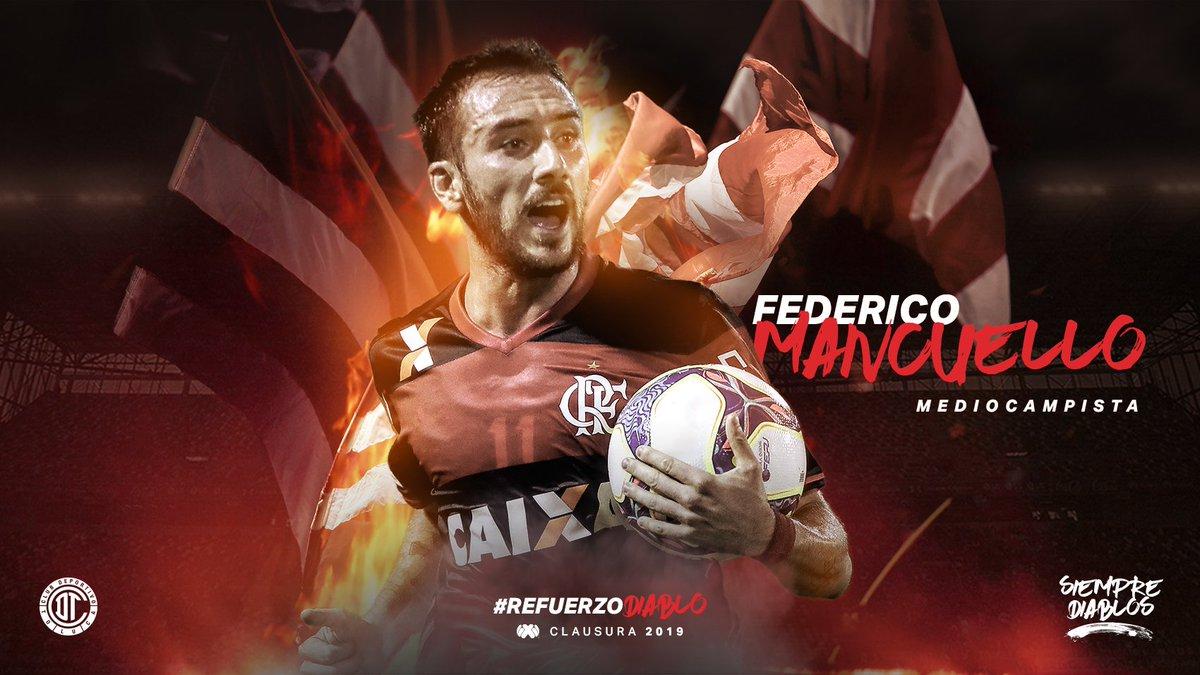 Draft Liga MX Y Ascenso MX's photo on Federico Mancuello