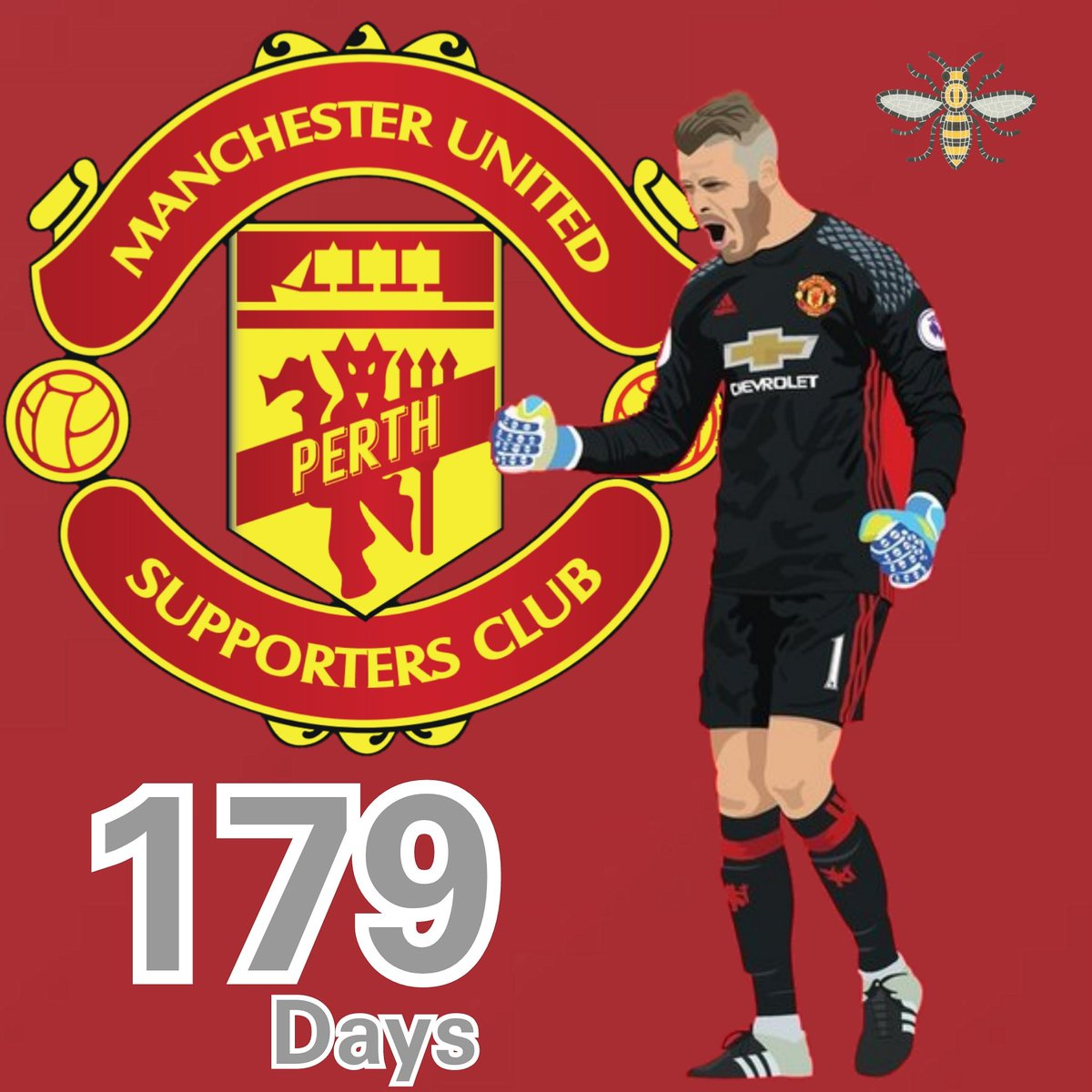 179 days till @d_degeaofficial keeps another clean sheet against @perthgloryfc for @manchesterunited @optusstadium   https://optusstadium.com.au/united-in-perth/ …  #perthwesternaustralia #mutour #unitedinperth  #seeperth #optusstadium  #manutd #manchester #united #pmusc #perthreds #mufc #perthmusc
