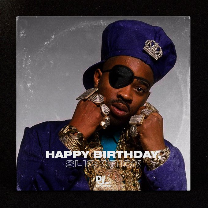 Happy birthday Slick Rick enjoy your special day!!