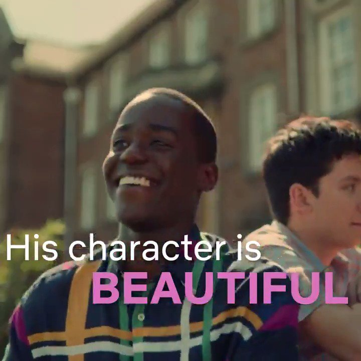 Strong Black Lead's photo on #SexEducation
