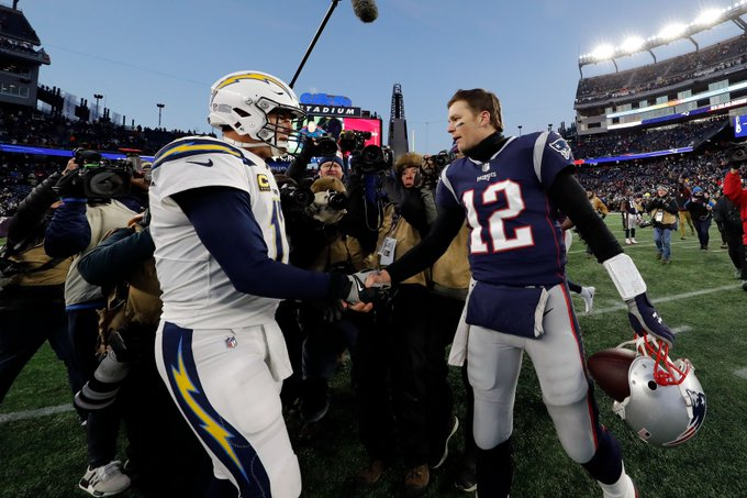 Patriots-Chargers gets massive ratings, sets new record Foto