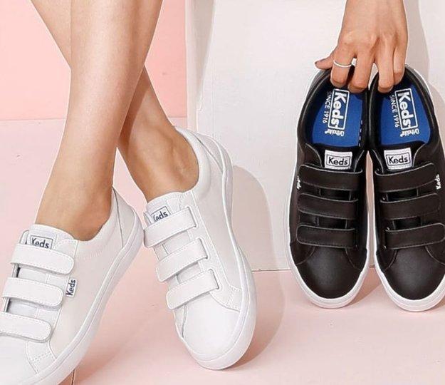 Tiebreak leather sneakers