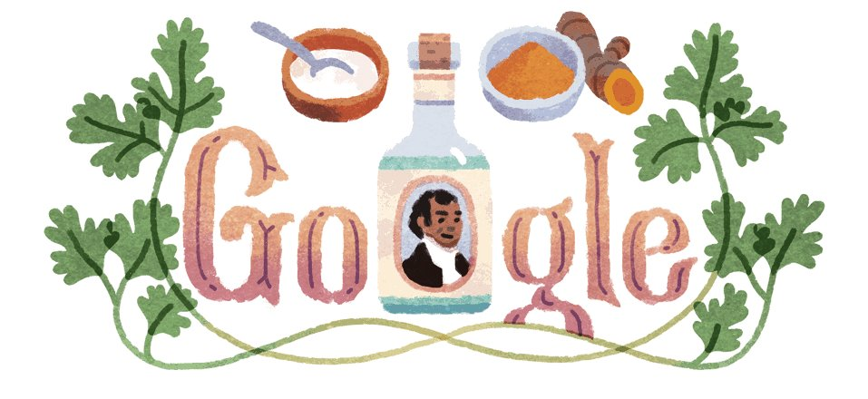 Today #SakeDeanMahomed (1759-1851born at Patna) is being honoured by#Googlewith acommemorative #Doodle. He was the #first_Indian_author to publish a book in English, as well as owner of the #first_Indian_restaurant in Britain. #GoogleDoodle <br>http://pic.twitter.com/kAwdwiPAzr