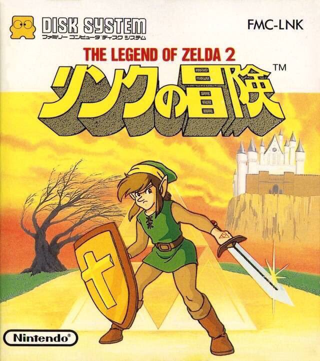 The Legend of Zelda 2: Link no Bouken for Famicom Disk System was released on this day in Japan, 32 years ago (1987) <br>http://pic.twitter.com/4vBIgg9R2l
