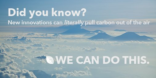 It&#39;s true! And we need to start yesterday.  #WeCanDoThis #ActOnClimate <br>http://pic.twitter.com/9J3aTNckYI