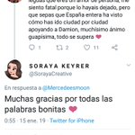 Soraya Twitter Photo