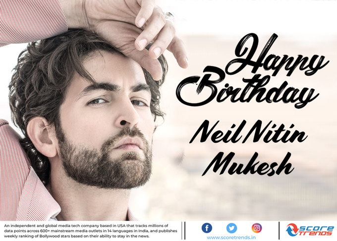Score Trends wishes Neil Nitin mukesh a Happy Birthday!!