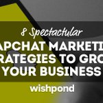 8 Spectacular #SnapchatMarketing Strategies to Grow Your Business https://t.co/T4FiCT8VKl via @carlonathan #SMM #socialmediamarketing