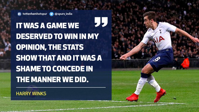 🗨️ Winksy reflects on our frustrating defeat against @ #TOTMUN Photo