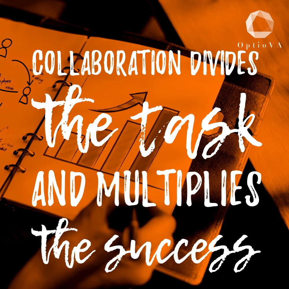 'Collaboration divides the task and multiplies the success.'  Is there tasks in your business that you avoid doing?  A #VirtualAssistant could be your answer.   I can complete these tasks, freeing you up to do the things you enjoy doing!  #glasgow #earlybiz #ukbizhour #freelancer<br>http://pic.twitter.com/meZZtW6dh9